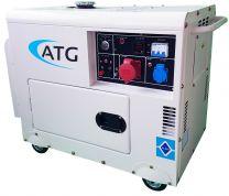 Stromerzeuger ATG Typ ATG8TP, 7,5kVA, 230/400 Volt, 3-phasig, 50 Hz, schallgedämmt