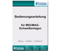 Bedienungsanleitung MIG/MAG-Anlage Typ Cloos GLC 356 c Englisch - digitale Version