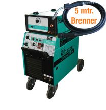 MIG/MAG - Schweißanlage CompactMIG 400 DW mit Drahtautomatik, stufengeschaltet