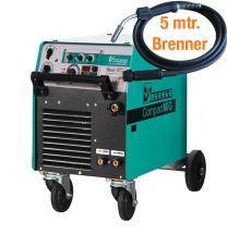 MIG/MAG - Schweißmaschine CompactMIG 400 K mit Drahtautomatik, stufengeschaltet online bestellen | Merkle Schweiss Shop