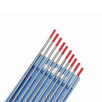 Wolframelektrode WT 20, 1,6 x 175 mm, Kennfarbe rot, 2 % Thorium online bestellen | Merkle Schweiss Shop