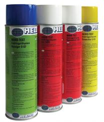 Farbeindring-Prüfverfahren 500 ml Dose Komplettsatz = Diffusions-Rot, Reiniger und Entwickler