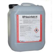 Hand- und Flächen-Desinfektionsmittel Typ BP desinfekt-H im 10 Liter-Kanister online bestellen | Merkle Schweiss Shop