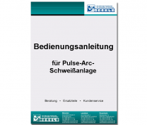 Bedienungsanleitung Pulse-Arc-Anlage Typ ME 410 TR-PU - digitale Version