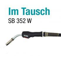 MERKLE-MIG/MAG-Schweißbrenner SB 352 W, 4 mtr. lang im Tausch