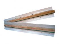 Keramische Schweißbadsicherung 605 x 35 x 3,5 mm, rund, 9,5 mm Ø