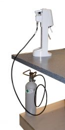 CO2/Kohlensäure Wassersprudler-Umbau-Set für den Umbau von einer 0,425 Kg-Flasche auf eine 2 Kg-Flasche mit Abgabe von einer 0,425 Kg-Pfandflasche