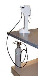 CO2/Kohlensäure Wassersprudler-Umbau-Set für den Umbau von einer 0,425 Kg-Flasche auf eine 2 Kg-Flasche ohne Abgabe von einer 0,425 Kg-Pfandflasche