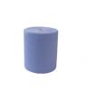 Mini Putzpapier 2-lagig, geklebt, blau, 395 Abrisse zu 22 x 38 cm