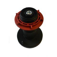 Spulenhalter mit roter Haltemutter für alle MERKLE-MIG/MAG- und Pulse-Arc-Schweißanlagen