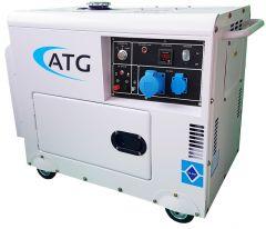Stromerzeuger ATG Typ ATG6SP, 6kVA, 230 Volt, 1-phasig, 50 Hz, schallgedämmt