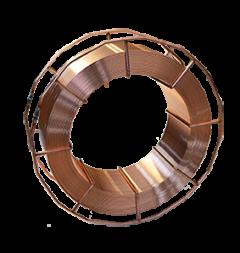 Schutzgas-Schweißdraht für verzinkte Bleche, 1,2 mm ø, SG 2 Ti, K-300-Spule, lagengespult, G2Ti